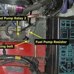 2003 Mitsubishi Eclipse Fuel Pump Wiring Diagram Telephone Uk Stealth 316 - Relay/resistor Bypass
