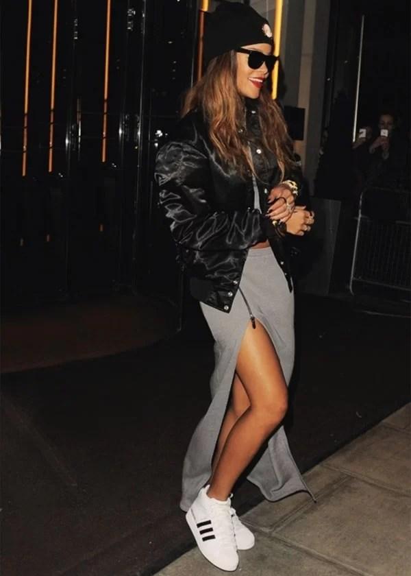 Resultado de imagem para Rihanna looks inverno
