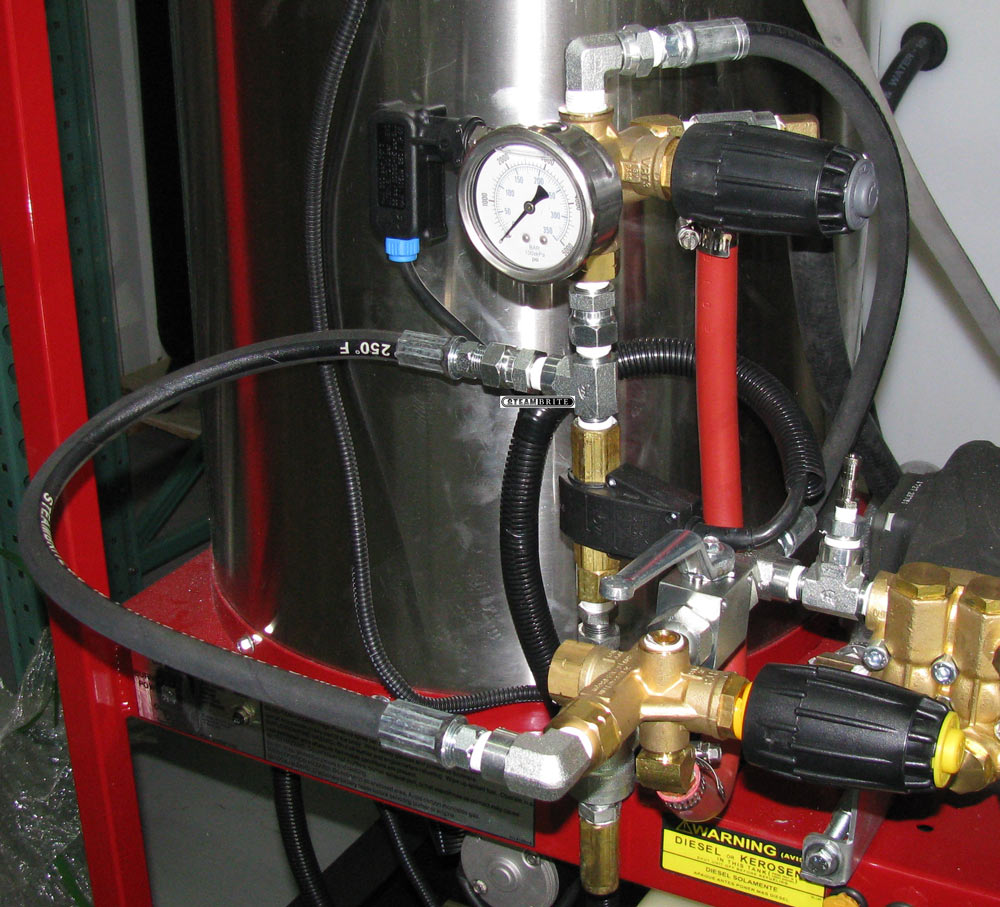 hight resolution of dual unloader full range pressure system for hydrotek sk30005vh and sk40005vh pressure washer parts only