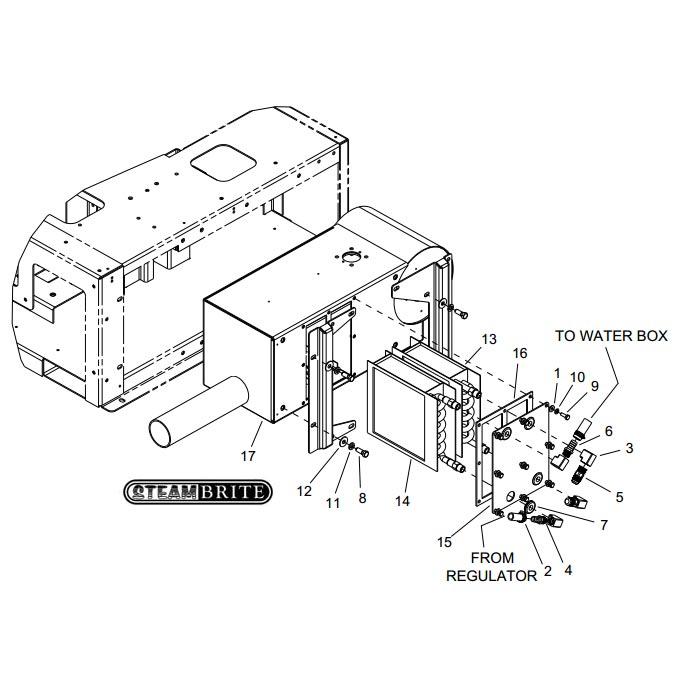 Prochem Truckmount Heater Core Stainless Steel Blazer