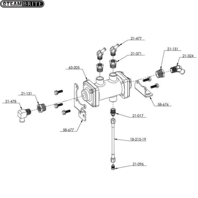 Sapphire Scientific 63-205 Engine Oil to Water Heat