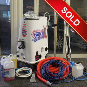 Steamvac Apollo HP Carpet, Upholstery and Tile Cleaning Package