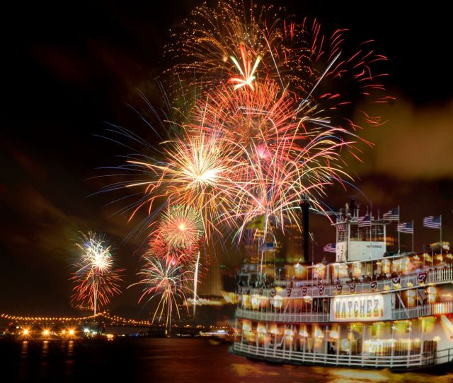 New Years Eve On The Natchez Is Gala Event Be Dazzled By The Holiday Decorations Party Hats And Favors And Up On The Dance Floor With The Band Selected