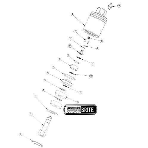 Flojet Itt Flow Control ET508224B Oscillator Pump 115 Volt