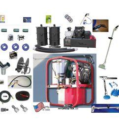 hydrotek rce boss hydrotek synergistic truckmount 37 hp 3000 psi 4 8 gpm 45 blower auto dump flood pumper  [ 1300 x 1300 Pixel ]