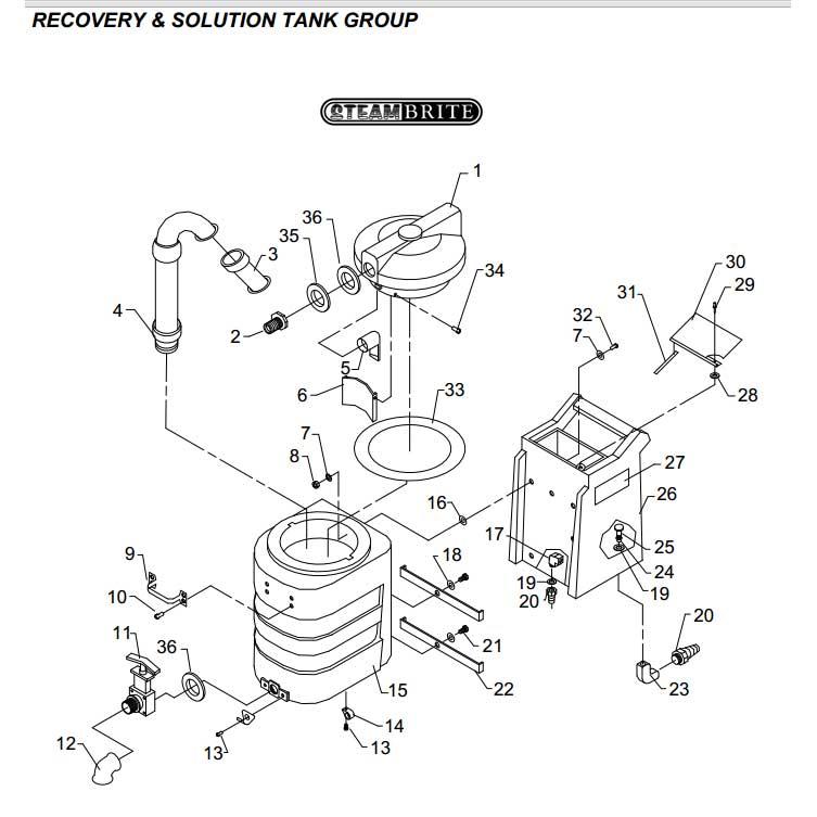Piranha Carpet Cleaner Extractor Shampooer Manual