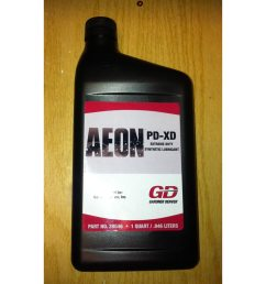 gardner denver 28g46 brand blower oil aeon pd xd full synthetic formula extra heavy duty [ 1000 x 1000 Pixel ]
