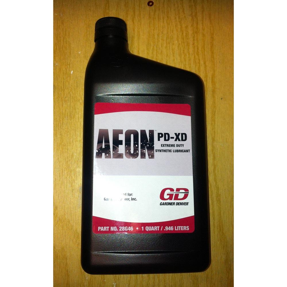 medium resolution of gardner denver 28g46 brand blower oil aeon pd xd full synthetic formula extra heavy duty