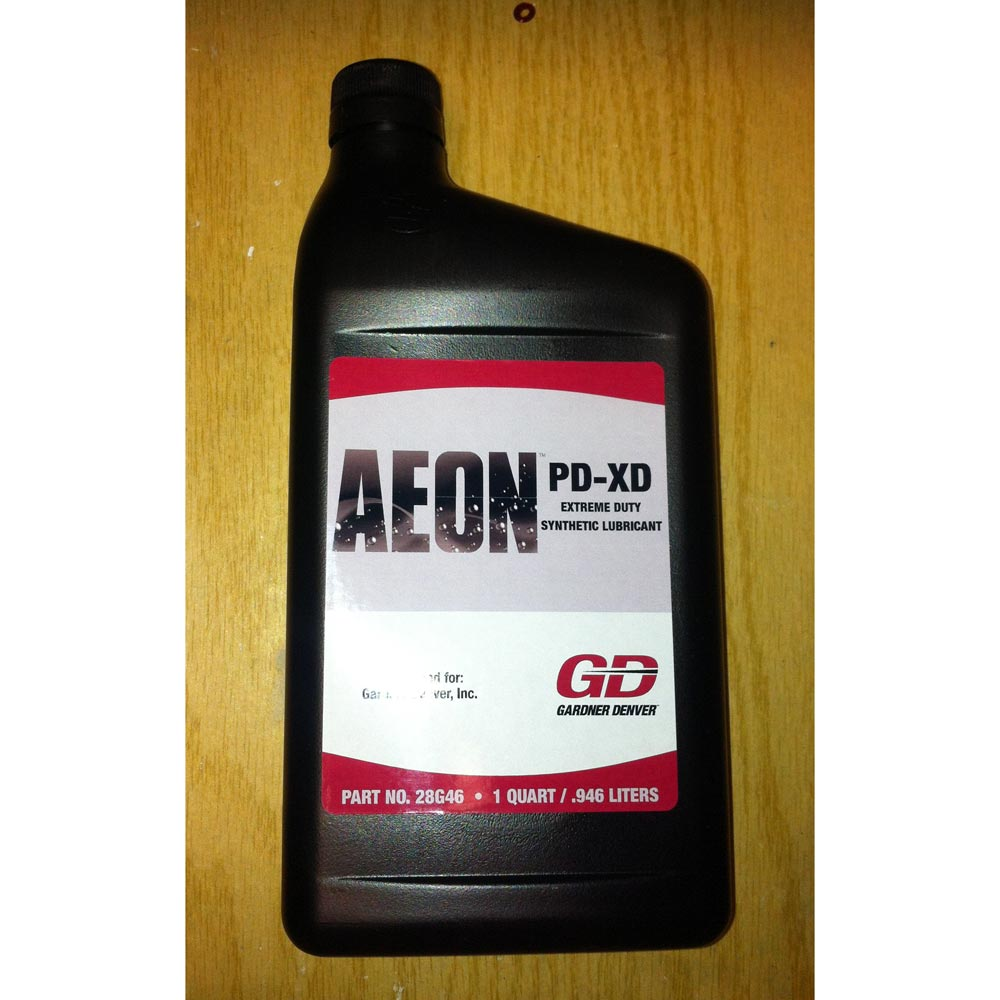 hight resolution of gardner denver 28g46 brand blower oil aeon pd xd full synthetic formula extra heavy duty
