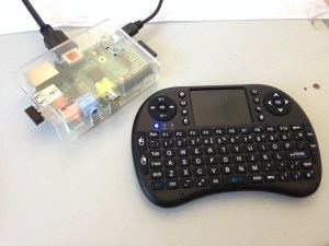 Raspberry Pi and Wireless Keyboard