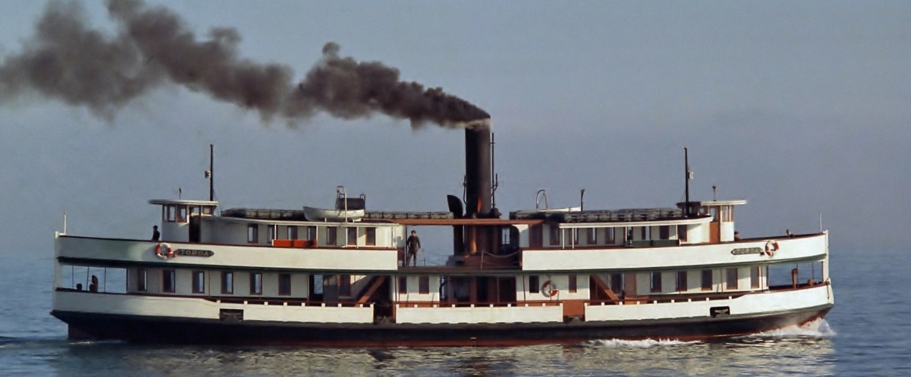 STEAM FERRY TOROA