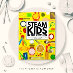 Kitchen Science Aid K5ss The Best Experiments In Steam Kids Picture Of Book On A Plate Table
