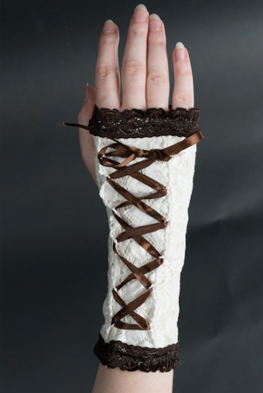 Steampunk Lolita Handschuhe 16