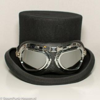 Steampunk Pilotenbrille 2