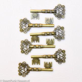 Steampunk Schlüssel-Set York