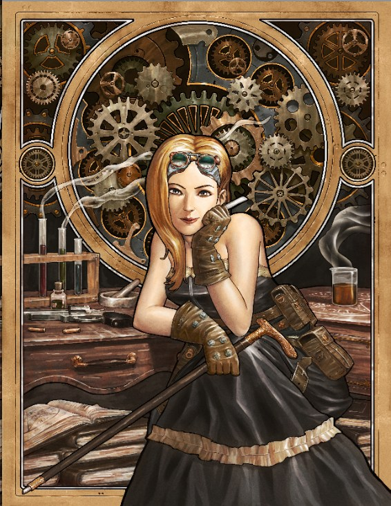 RPG Review Clockwork Empire Steampunk Role Playing Game
