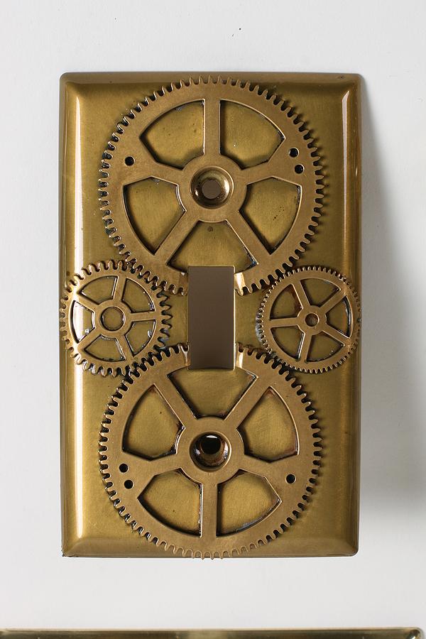 Steunk Home Decor Light Switch Plates
