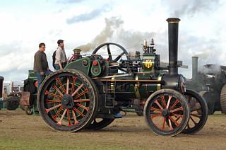 Clayton Shuttleworth Tractor