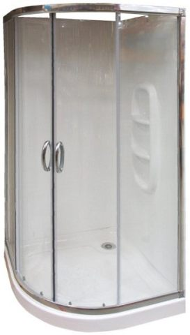 Steam Stopper for curved corner Showers
