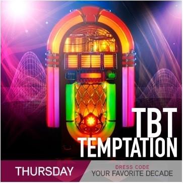 Temptation Resort Theme Night Thursday TBT Temptation Favorite Decade