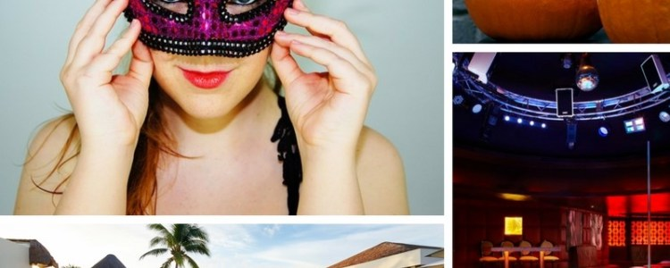 Clothing Optional Halloween Party: Book your trip to Cancun for a clothing optional Halloween Part. Visit Desire Riviera Maya, Pearl or Temptation Resort and bring your adults only costume.