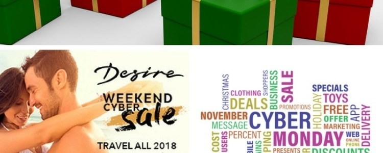 Desire Resort Sale! Desire Riviera Maya Resort and Desire Pearl are offering a Cyber sale that you just can't pass up. If you and your partner have ever dreamed about visiting a clothing optional, sexy resort then dream no longer.