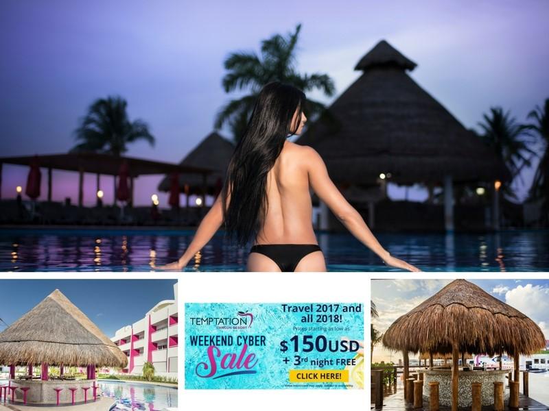 Temptation Cancun Resort Cyber Sale