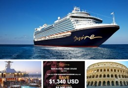 Desire Cruise Holiday Sale.  Desire Resort has a Holiday Sale on their April 2018 Mediterranean Cruise! If you have been dreaming about going on a clothing optional European cruise you should check out their low rates.  This Desire Cruise Holiday Sale will not last long.