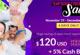 Temptation Cancun Resort Cyber Sale 2019