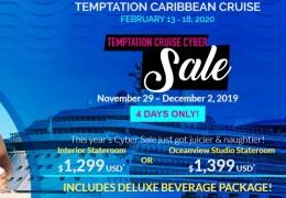Temptation Cruise Cyber Sale 2019