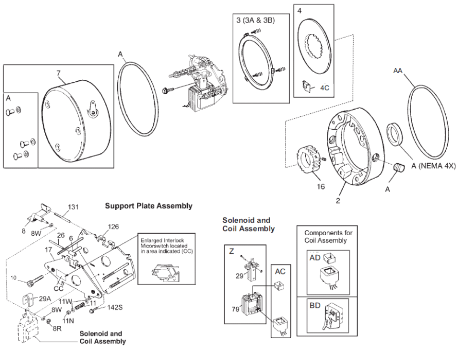 Stearns-Direct.com: Products: Brakes: Stainless Steel