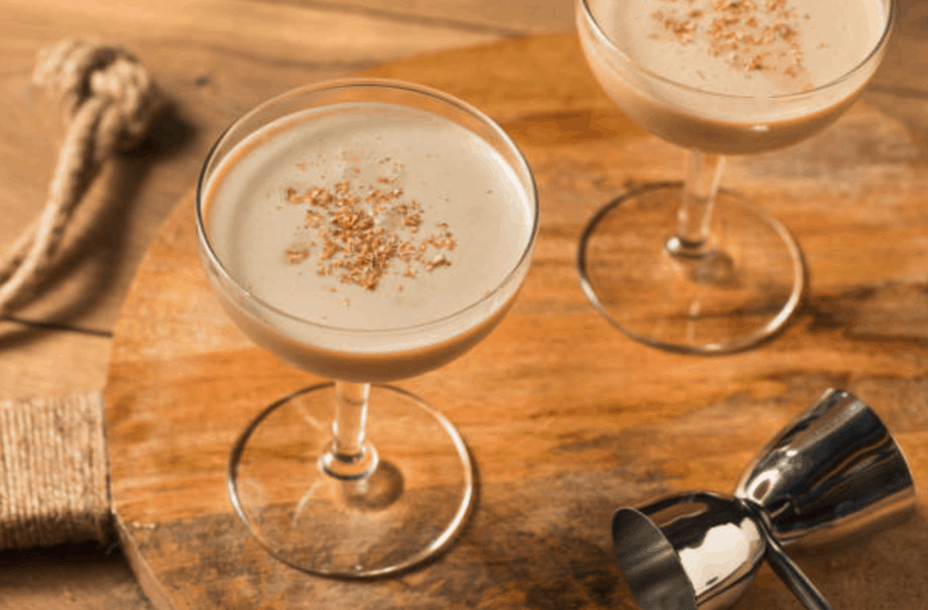 History At Home: Brandy Alexander Happy Hour