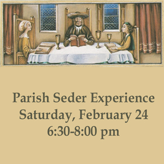 Experience our Passover Seder