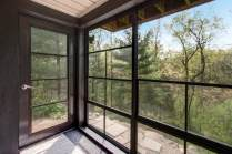 Vinyl WeatherMaster windows provide the perfect view to the gorgeous outside scenery.