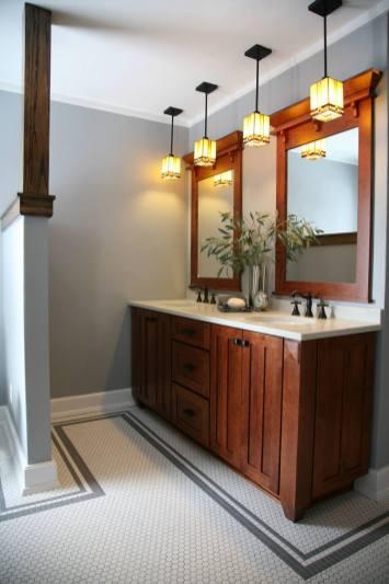 Craftsman Style Master Bath Remodel in Elkhorn - moon-bath-from-bedroom2