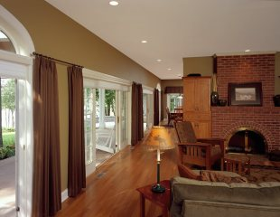 Whole House Remodeling Project in Delavan - Family-Room-to-Kitchen-After-JPG