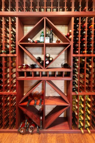 Temperature and Humidity Controlled Wine Cellar