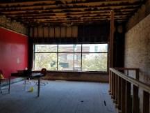 Empty second story store downtown Beloit