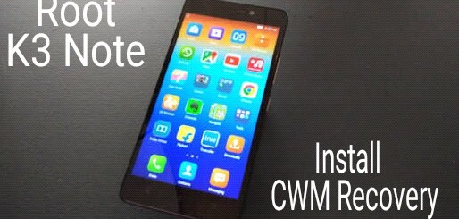 Root lenovo k3 note and install custom recovery