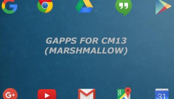 Download Gapps for CM12 1/Android 5 1/Lollipop