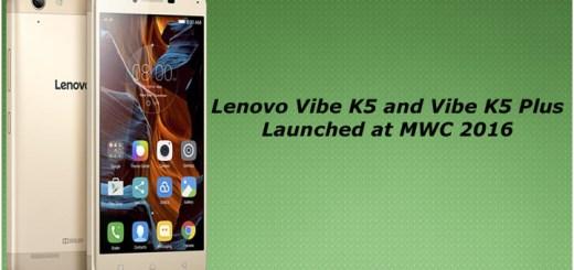 Lenovo Vibe K5 and Vibe K5 Note