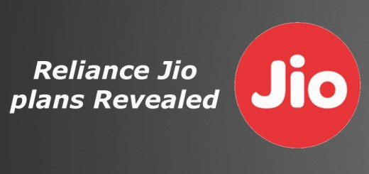 Reliance Jio plans Revealed
