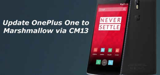 Update OnePlus One to Marshmallow
