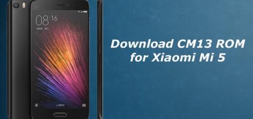CM13 ROM for Xiaomi Mi 5