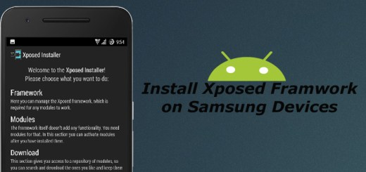 Install Xposed Framwork on Samsung Devices
