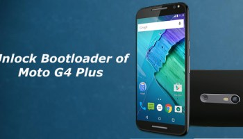 Remove Unlocked Bootloader Warning On Moto G4 Plus