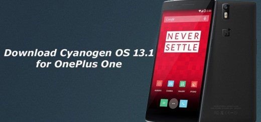 Download Cyanogen OS 13.1 for OnePlus One