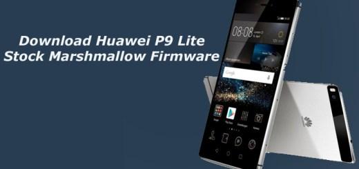 Download Huawei P9 Lite Stock Marshmallow Firmware