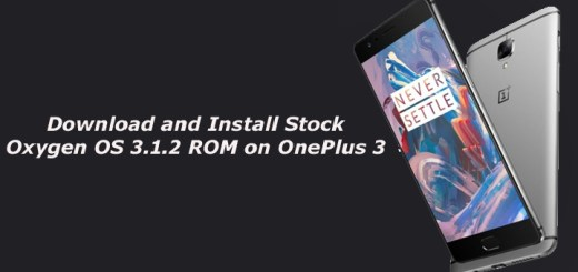 Download and Install Stock ROM for OnePlus 3