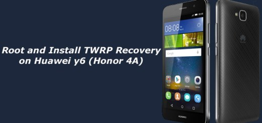 Root and Install TWRP Recovery on Huawei y6 (Honor 4A)